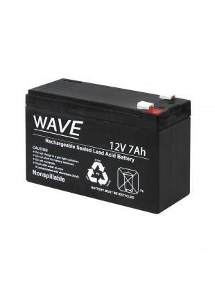 Batteria Al piombo 12v 12 Volt Ricaricabile Ermetica 7 Ah Allarme Antifurto Ups