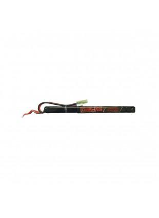 Batteria da Softair Gioco Passatempo Lipo 7.4V 25 c 1300 Mah Large Sport Carica