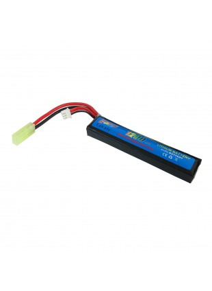Pacco Batterie Batteria Lipo 1200 mAH 7.4V Softair Soft Air