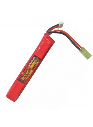 Pacco Batterie Batteria Lipo 1300 mAH 11.1V Softair Billowy Power