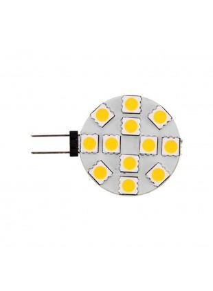 Lampada 12 led 2,5 Watt Illuminazione per imbarcazioni Navigazione Luce calda