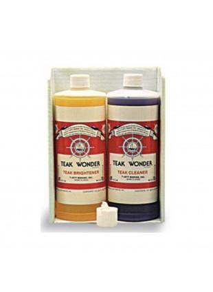 Detersivo Sgrassante Detergente Flacone 3,8 lt Teak Wonder Cleaner Imbarcazioni