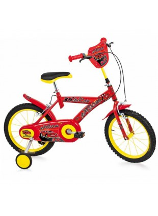 "Bicicletta Bambino BMX Bici Bimbo 16"" Wroomm Rosso Made in Italy"