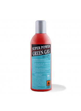 Bomboletta Green Gas 600Ml High Performance Bombola Ricarica SoftAir Super Power