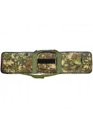 Custodia Borsa Porta Fucile Carrabina da Caccia Militare Vegetato Italiano 110 cm