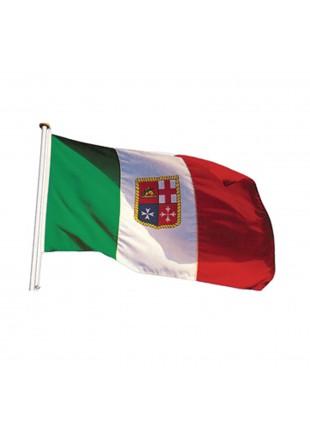 Bandiera italiana Bandierina marina mercantile 200x300 mm Nautici Gommone Barca
