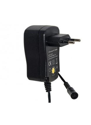 Alimentatore per Batteria Universale Caricatore 12 W 3-12 V Nero Compatto