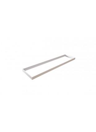 Frame Supporto per Pannelli Led Tetto Soffitto Bianco Allumino con Kit Fissaggio