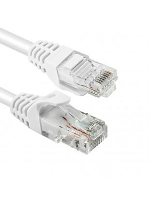 Cavo Ethernet UTP TAAU020-UTP-WH Vultech Bianco 2 Metri Categoria 6