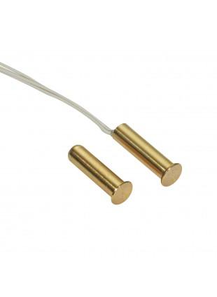 Contatto Magnetico a Sigaretta da Incasso Vimo CTI002 in Ottone Porte Finestre