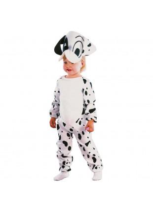 Vestito di Carnevale Cagnolino Dalmata per Bambino 3 4 Anni 86 cm