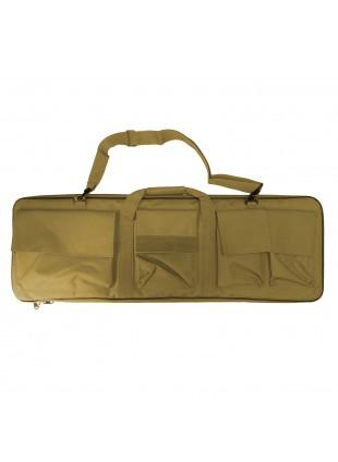 Custodia Borsa per Fucili Fucile Valigia in Cordura Caccia Softair Tan Militare