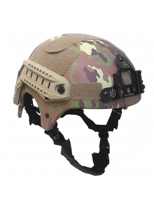Elmetto Militare Casco per Softair IBH Vegetato Italiano in ABS