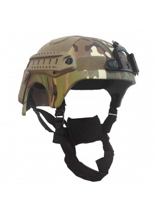 Elmetto Militare Casco per Softair IBH Multicam in ABS