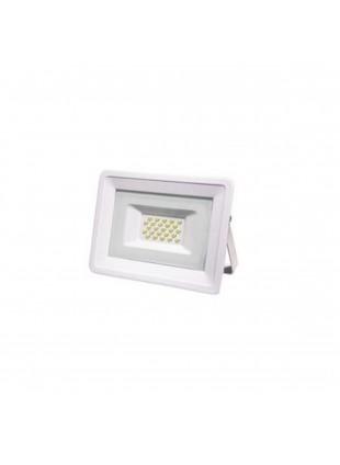 Faretto Illuminazione Giardino Luce Bianca Calda 3000K 4000 Lm 50 W Sottile