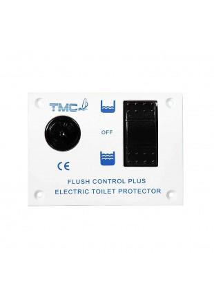 Pannello Elettrico Comando Wc Bagno Toilette Acqua Flush Control Nautica 24V 15A