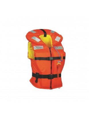 Giubbotto di Salvataggio 30-40 Kg Sicurezza Nuoto Mare Nautica 150N con Speed-up