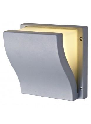 Lampada Esterno Plafoniera Applique Grigio LED LIGHT E27 Muro Soffitto Giardino