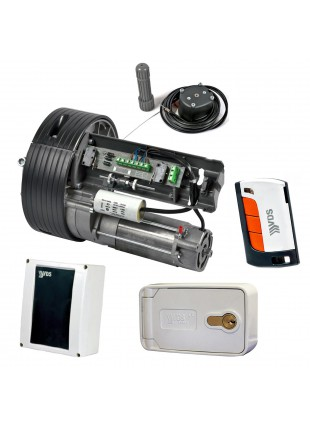 Kit Motore per Serranda 150 Kg Telecomando VDS Automazione Garage