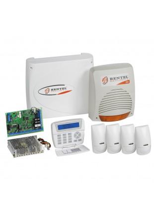 Kit Allarme Antifurto BENTEL Casa Ufficio Centrale KYO32 Sensori Pir + Sirena