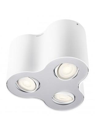 Philips Pillar Lampada da Soffitto Spot Bianco 3 Luci
