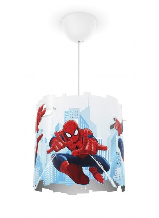 Lampada Spiderman Philips a Sospesione per Cameretta Bambini
