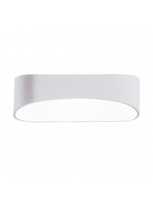 Applique in Alluminio Lampada da Parete 10W Bianca Luce Calda