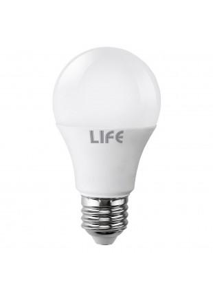 Lampada Lampadina E27 LED SMD LIFE 10W Goccia Luce Fredda 830 LUMEN