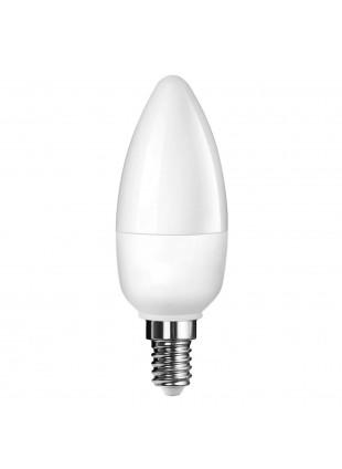 Lampada Lampadina E14 LED SMD LIFE 5,5W Candela Luce Calda 470 Lumen