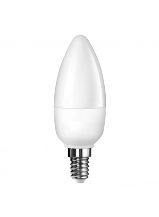 Lampada Lampadina E14 LED SMD LIFE 5,5W Candela Luce Fredda 500 Lumen