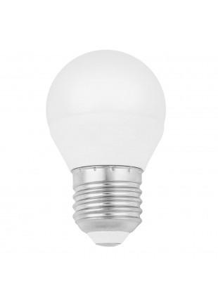 Lampada Lampadina E27 LED SMD LIFE 5,5W Minisfera Luce Calda 470 Lumen