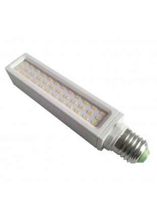 Lampadina Lampada LED Luce Bianca Calda Faretto PLC E27 12 W LIFE Basso Consumo