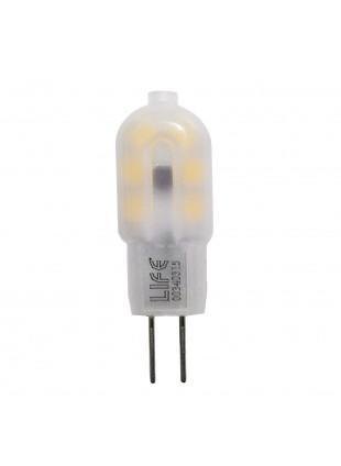 Lampadina Lampada Faretto G4 1,5 Watt Luce Bianca Calda LIFE 39.930217C