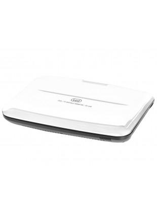 Lettore DVD rotazione schermo Batteria ricaricabile a lithio  Bianco Telecomando