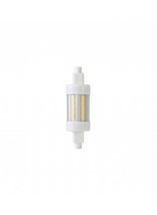 Lampadina a led luce bianca fredda 6500K 790 Lumen Life 22x78 mm 7W 39.932206F