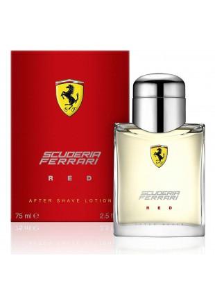 Lozione Dopobarba Scuderia Ferrari 75 ml After Shave Uomo Red