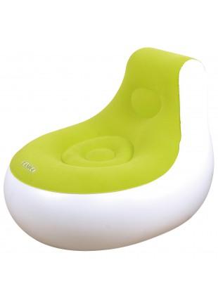Sedia Poltrona Gonfiabile Poltroncina Piscina BERTO SIDE Verde Relax Comfort