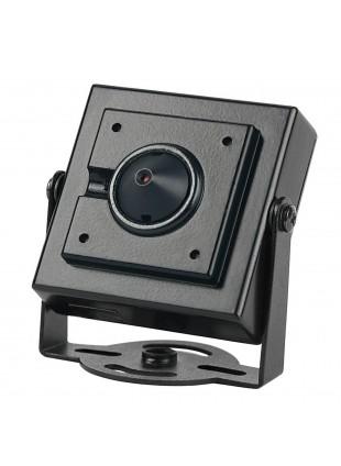 "Telecamera PinHole AHD Vultech 1/4"" 1,3Mpx 960p 3,7mm Nera"