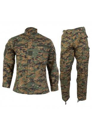 Mimetica Uniforme Esercito Pantaloni Vegetati Taglia S Digital Woodland MARPAT