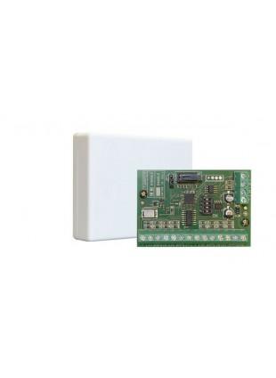 Modulo di espansione per centrali serie X con scatola in ABS bianca 8 ingressi