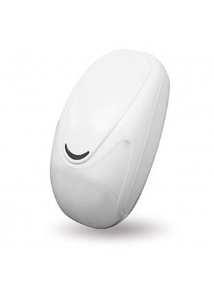 Sensore Pir Volumetrico Mvimento Allarme Wireless Doppia Tecnologia AMC IF400