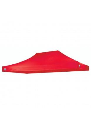 Solo tetto piramide 3x4,5 Gazebo Rosso Campeggio Camping Copertura Garden Berto