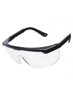 Occhiali di Protezione Tattici per Softair Lente Trasparente in Policarbonato
