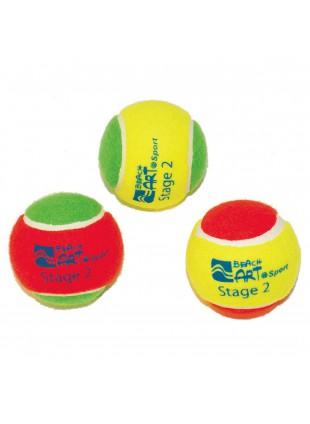 3 Pezzi Palline Beach Tennis Colorate per Racchettoni da Spiaggia
