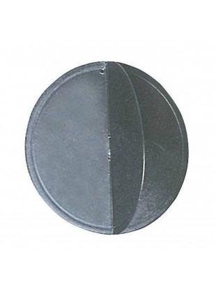 Pallone nero di avvertimento policarbonato nero accessori nautica diametro 300