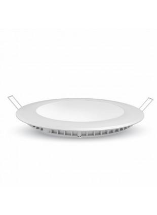 Faretto incasso forma rotonda V-tac Potenza 6W a luce bianca fredda 6000K 420Lm