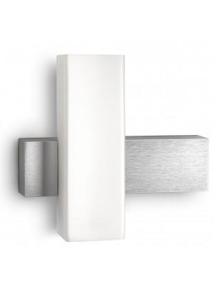 Applique Philips Savoir Led Moderna per Interno 9W Vetro Alluminio