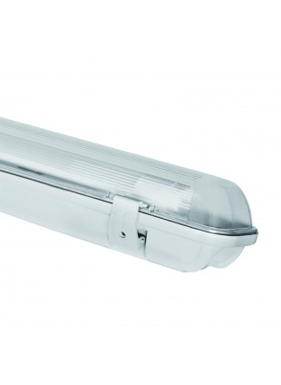 Plafoniera Stagna 1 Neon Led Tubo G13 150 cm 220V Soffitto IP65