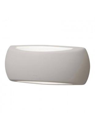 Plafoniera a led esterni bianca in Opale con Attacco E27 Luce Naturale 800 Lumen