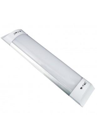Plafoniera Led 60cm 20W Applique Tubo Prismatico Luce Fredda V-TAC VT-8020